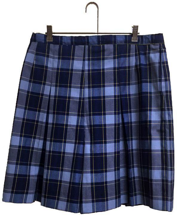 St. Francis Borgia H.S. Culotte *WHILE SUPPLIES LAST* 14057, 4057 skirt, 40 style skirt, #57 plaid, 57 uniform plaid skirt, 57 uniform plaid, girls plaid uniform skirt, culotte, skort, skirt with shorts, tyler plaid, dennis tyler plaid, tyler, dennis tyler