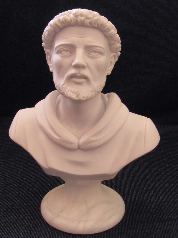 St. Francis Bust Statue