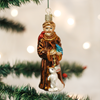 St. Francis Glass Ornament