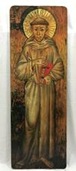 St Francis Large Wall Plaque