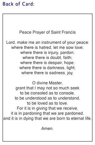 peace prayer of st francis