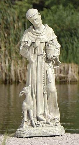 St. Francis with Fawn Statue