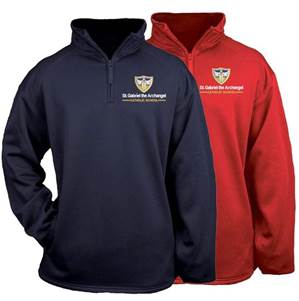 St. Gabriel Performance Quarter Zip Sweatshirt