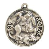 "St. George Pendant on 20"" Chain"