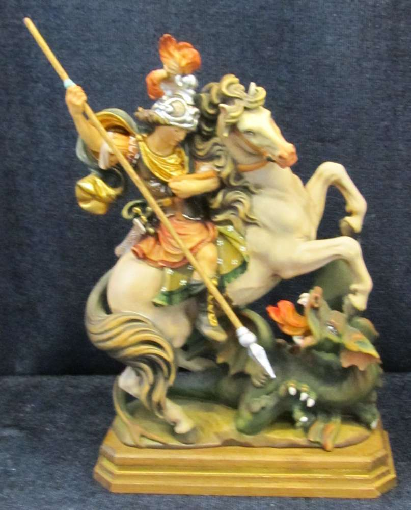 St. George on Horse Statue