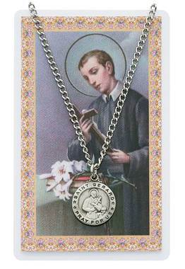 St Gerard Necklace and Prayer Card Set