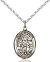 St. Germaine Cousin Patron Saint Necklace