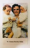 St. Gianna Beretta Molla Prayer Card, Paper