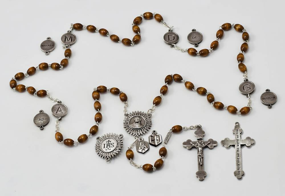St. Ignatius Jesuit Rosary *AVAILABLE OCTOBER 2017; ADVANCE ORDERS ACCEPTED NOW* SAINT IGNATIUS, JESUIT ROSARY, AMDG, JESUIT GIFT, IGNATIAN, IGNATIUS