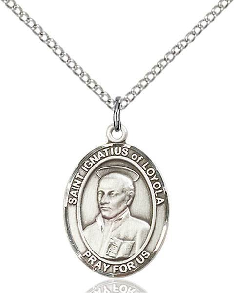 St. Ignatius of Loyola Patron Saint Necklace