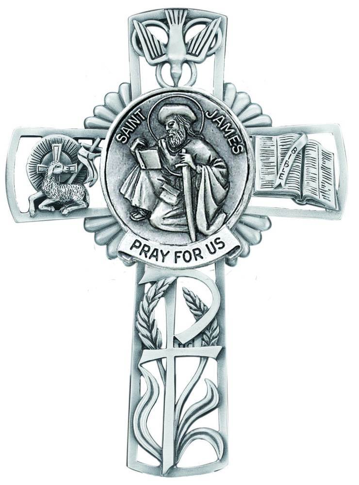 St. James Pewter Wall Cross
