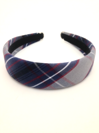 Padded Headband, Plaid #53