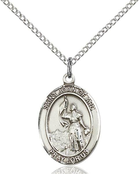St. Joan of Arc Patron Saint Necklace