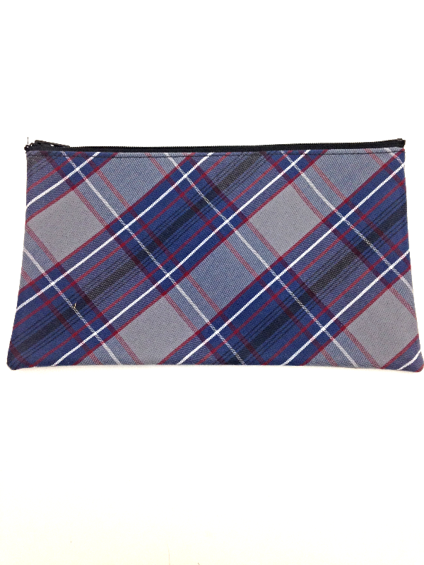Pencil Case, Plaid #53