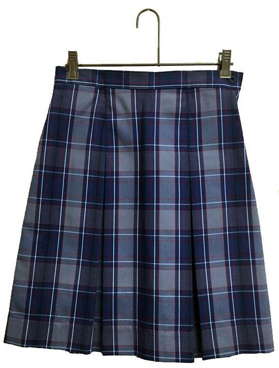 #53 Box Pleat Uniform Skirt
