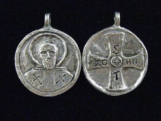 St. John of God:  Patron of Nurses and Other Hospital WorkersWHILE SUPPLIES LAST st john medal, patron saint medal, patron of nurses, patron of hospital workers, 15255, medal, necklace, keyring