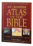 St. Joseph Atlas Of The Bible 79 Full-Color Maps Of Bible Lands With Photos, Charts, and Diagrams