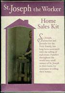 St. Joseph Home Sale Kit st joseph, st joseph home selling kit, patron saint of workers, worker statue, home sale, 45007