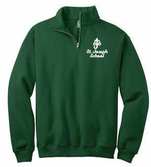 St. Joseph Imperial Hunter Quarter Zip Sweatshirt