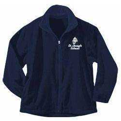 St. Joseph Imperial Navy Full Zip Fleece Jacket