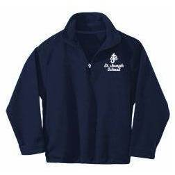 St. Joseph Imperial Navy Quarter Zip Fleece