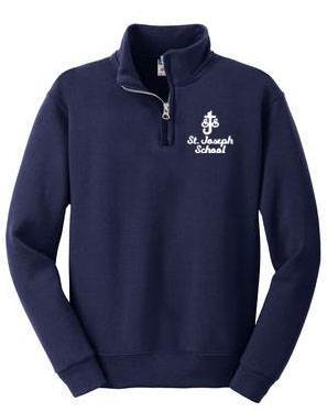 St. Joseph Imperial Navy Quarter Zip Sweatshirt