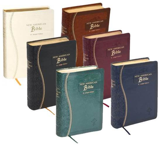 St Joseph New American Bible- Gift Edition