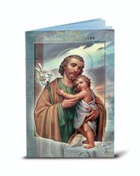 "St Joseph Novena Booklet  ?3.75"" x 6"" Beautifully Illustrated Novena Book of Prayer & Devotion Each Novena Book has 24 pages of Fratelli-Bonella Artwork"
