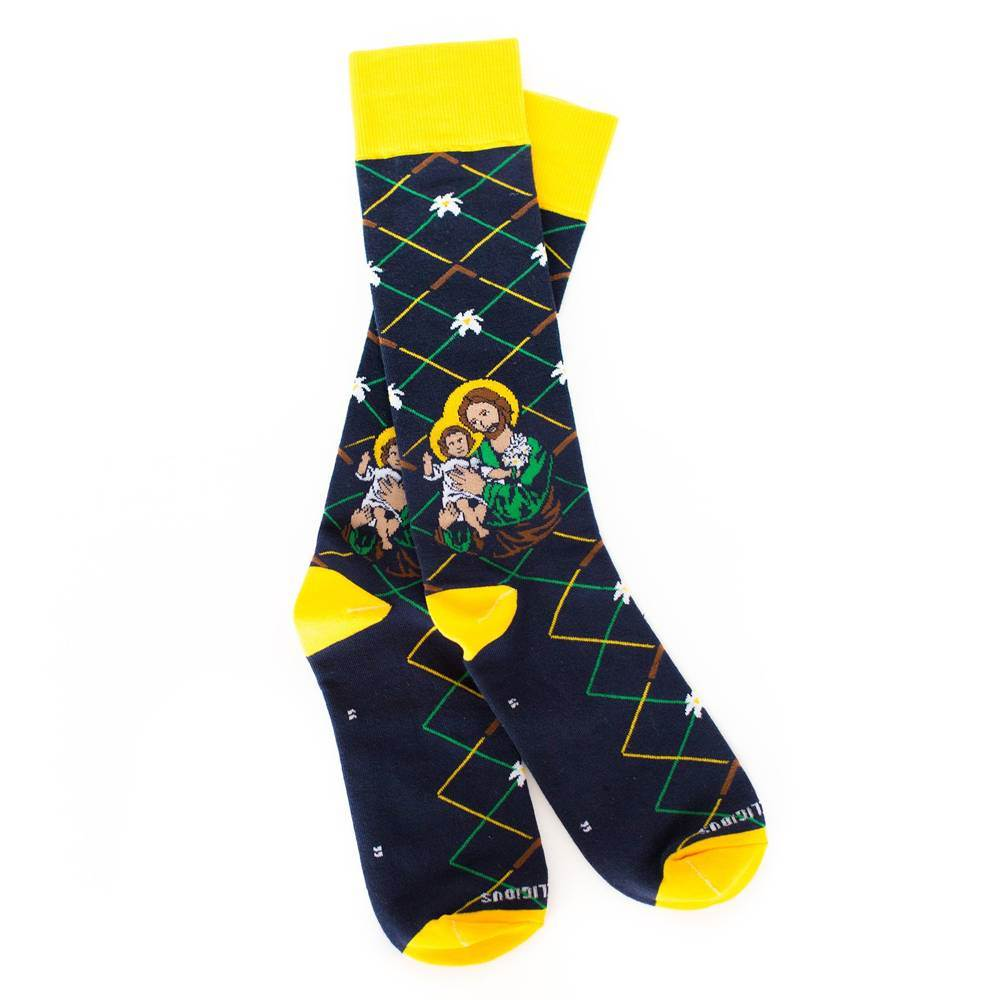 St. Joseph Socks - Adult