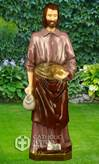"St. Joseph the Worker 24"" Statue, Colored"