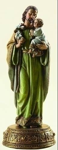 St. Joseph with Child Statue st joseph statue, st joseph and child statue, jesus, joseph studio, home decor, church decor, 62812