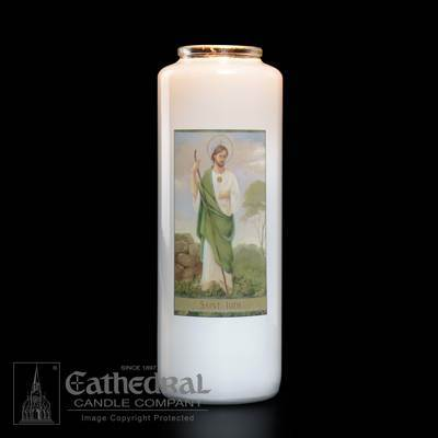 St. Jude Bottlelight Candle