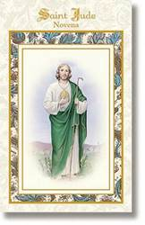 St. Jude Pocket Novena Book pocket novens, st jude, st jude prayer book, st jude novena book, paperback, patron saint of hopeless cases, saint book, MD070, SJTS