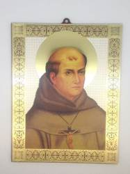 St. Junipero Serra Wall Plaque 9in X 7in
