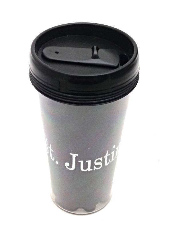 St. Justin Plaid 16oz. Travel Tumbler