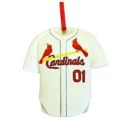 St. Louis Cardinals Baseball Jersey Ornament