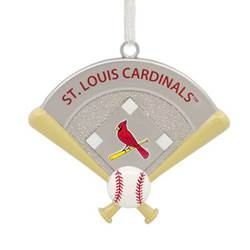 St. Louis Cardinals™ Home Plate Ornament