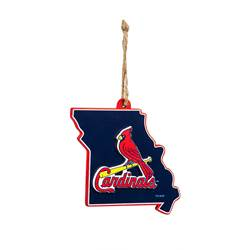 St. Louis Cardinals Missouri State Ornament