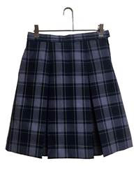 #87 Box Pleat Uniform Skirt