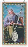 St. Luke Pendant and Holy Card Set