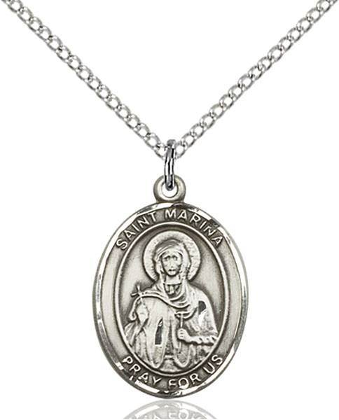 St. Marina Patron Saint Necklace