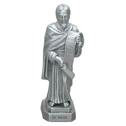 "St. Mark 3.5"" Pewter Statue"