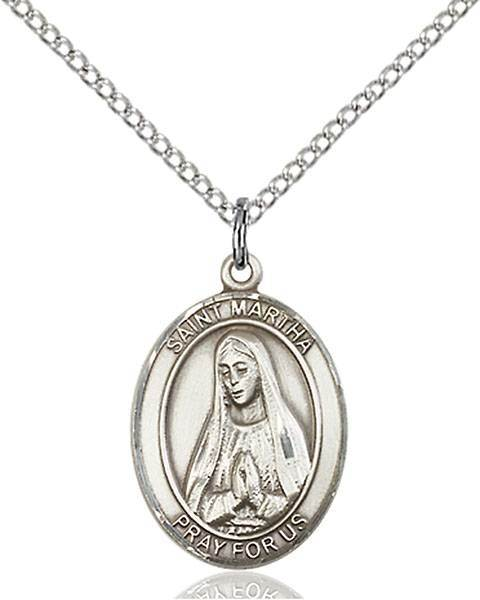 St. Martha Patron Saint Necklace