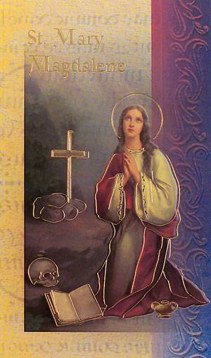 St. Mary Magdalene Biography Card
