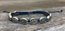 St. Michael Police Blessing Bracelet with Story Card police gift, police bracelet, police jewelry, police blessing bracelet, police medal