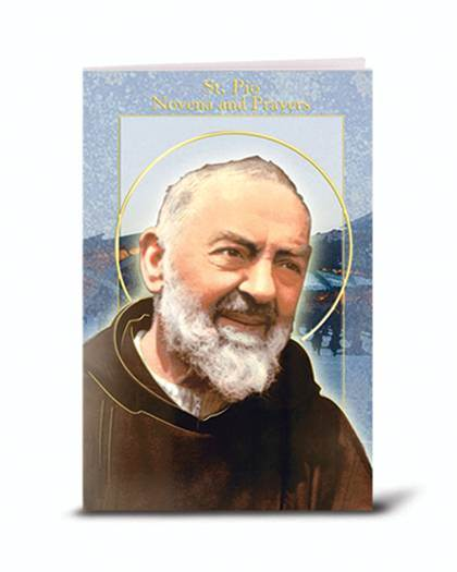 St. Padre Pio Novena And Prayers Booklet