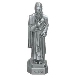 "St. Paul 3.5"" Pewter Statue"