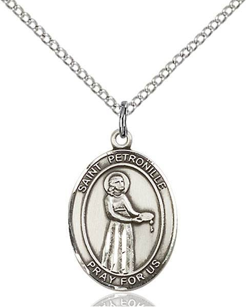 St. Petronille Patron Saint Necklace