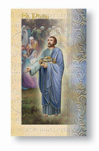 St. Philip Biography Card