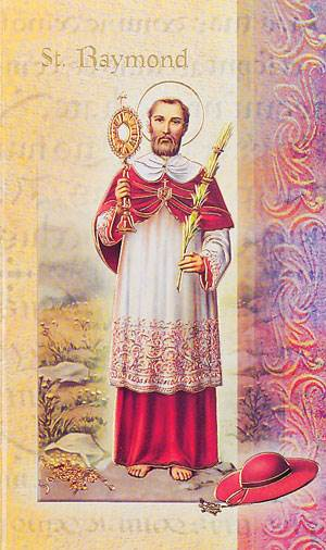 St. Raymond of Nonnatus Biography Card